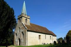 Церковь St Nicholas, Steventon, Хемпшир Стоковое фото RF