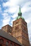 Церковь St Nicolai в Stralsund, northarn Германии Стоковая Фотография RF