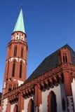 Церковь St Nikolai Франкфурта стоковое изображение