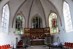 Церковь (St. Nikolai) Burg (Fehmarn) Стоковые Фотографии RF