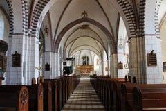 Церковь (St. Nikolai) Burg (Fehmarn) Стоковое Изображение