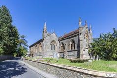 Церковь St Osmund в Evershot, Дорсете, Великобритании Стоковые Изображения