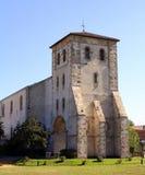 Церковь st-Pée-sur-Nivelle Франция стоковая фотография