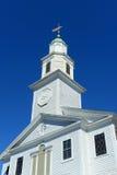 Церковь St Paul объединенная методист, Ньюпорт, Род-Айленд стоковые изображения rf