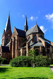 Церковь St Peter в Malmo, Швеции Стоковое Фото