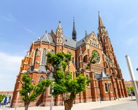 Церковь St Peter и Пол в Osijek, Хорватии стоковые изображения rf