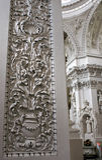 Церковь St Peter и St Paul, Вильнюса Стоковое Фото