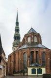 Церковь St Peter, Рига Стоковое Фото