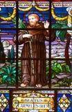 Церковь St Peter стеклянного окна Tained Стоковое Фото