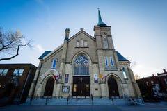 Церковь St Stanislaus Kostka в Торонто, Онтарио Стоковые Изображения RF