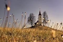 Церковь St. Thomas, Словения Стоковые Изображения RF