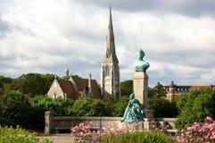 церковь statuary Стоковое Изображение RF