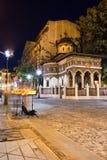 Церковь Stavropoleos в Бухаресте стоковые фотографии rf