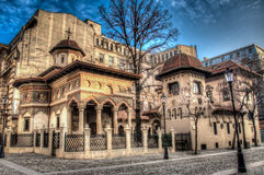 Церковь Stavropoleos Стоковые Изображения