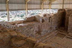Церковь Stevens в Umm ar-Rasas Стоковое Фото