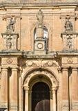 Церковь StNicholas, Siggiewi, Мальта Стоковые Фото