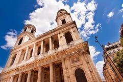 Церковь Sulpice святой Стоковое Фото