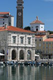 Церковь Tartini Square_and стоковые фото