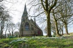 Церковь Thurstonland Стоковые Фото