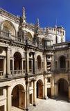 Церковь Tomar, Португалия Стоковое Фото