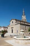 Церковь Tournon в Франции стоковые фотографии rf