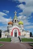 Церковь Transfiguration в Peredelkino, России Фото цвета Стоковая Фотография