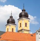 Церковь Trencin Piarist Стоковое Изображение RF