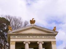 Церковь Trinita di Monti вверху испанский язык шагает в Рим Италию Стоковая Фотография