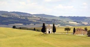 церковь tuscan стоковая фотография rf