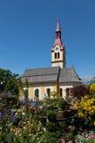 церковь tyrolean Стоковые Фотографии RF