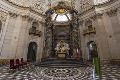 Церковь Val de Грейса, Парижа, Франции Стоковое Изображение RF