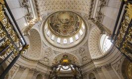 Церковь Val de Грейса, Парижа, Франции Стоковая Фотография RF