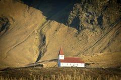Церковь Vik i Myrdal стоковое фото rf
