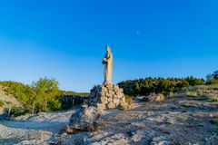 Церковь Virgen del Camino стоковые фотографии rf