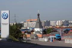 церковь volkswagen Стоковая Фотография RF