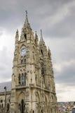 Церковь Voto Nacional del базилики в Кито, эквадоре Стоковое Изображение RF