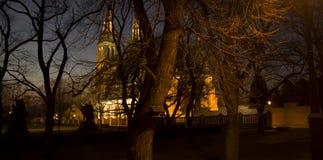 Церковь Vysehrad Стоковое Изображение