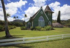 Церковь Wai'oli Hui'ia на Кауаи 2 Стоковое Фото