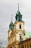 церковь warsaw стоковое изображение