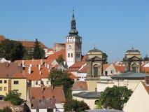 Церковь Wenceslas Святого и усыпальница Dietrichstein стоковое изображение