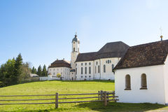 Церковь Wies всемирного наследия Стоковое Изображение