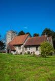 Церковь Wormshill Кент St Giles Стоковая Фотография RF