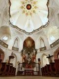 Церковь Zelena Hora, чехословакское ЮНЕСКО ориентир ориентира Стоковые Изображения RF