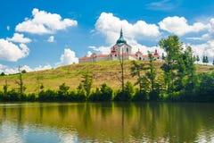 Церковь Zelena Hora Стоковая Фотография RF