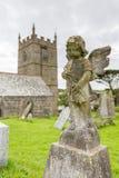 Церковь Zennor в Корнуолле Англии Стоковые Фото