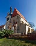 Церковь 02 Zlutice Стоковые Фото