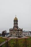 Церковь Znamenskaya в Podolsk стоковое фото rf