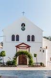 Церковь Zuheros, Cordoba стоковое изображение