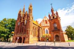 Церков в Вильнюсе стоковая фотография rf
