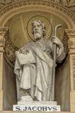 Церков Мальты - ротонды Mosta Стоковые Изображения
